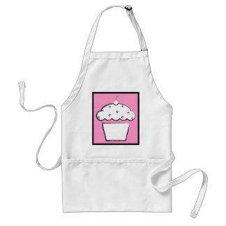 grunge cherry cupcake adult apron