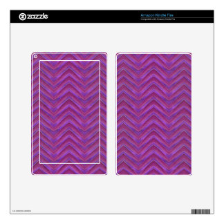 Grunge Chevron Style Skins For Kindle Fire