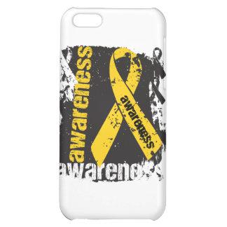 Grunge Childhood Cancer Awareness iPhone 5C Case