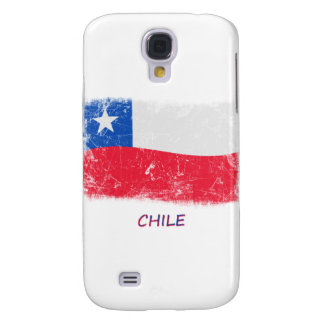 Grunge Chile Flag Galaxy S4 Cover