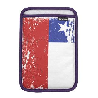 Grunge Chile Flag iPad Mini Sleeve