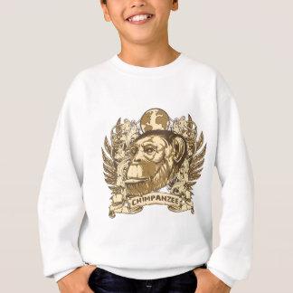 Grunge Chimpanzee Sweatshirt