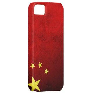 Grunge China Flag iPhone SE/5/5s Case
