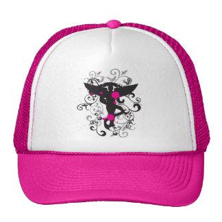 Grunge Chiropractic Caduceus Trucker Hat