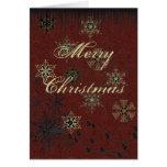 Grunge Christmas Greeting Card