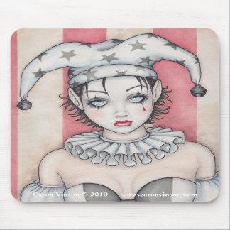 Grunge Circus Mousepad by Caron Vinson