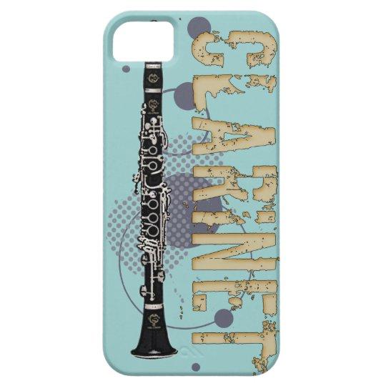 Grunge Clarinet iPhone 5 case
