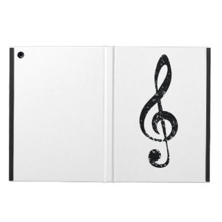 Grunge clef case for iPad air