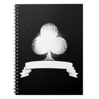Grunge Club in White Notebook