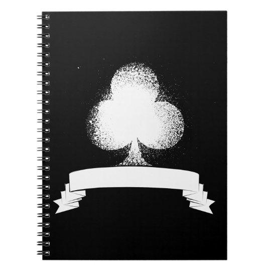 Grunge Club in White Notebook