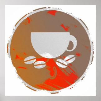 Grunge Coffee Sign