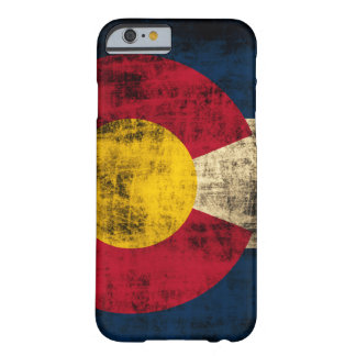 Grunge Colorado Flag Barely There iPhone 6 Case