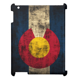Grunge Colorado Flag Cover For The iPad