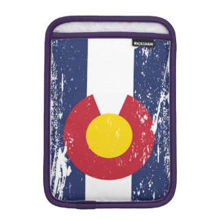 Grunge Colorado Flag iPad Mini Sleeve