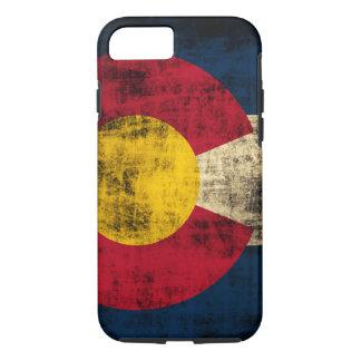 Grunge Colorado Flag iPhone 7 Case