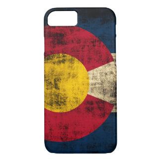 Grunge Colorado Flag iPhone 8/7 Case