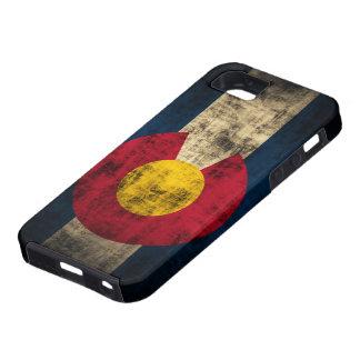 Grunge Colorado Flag iPhone SE/5/5s Case