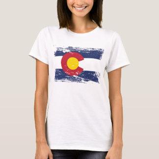 Grunge Colorado Flag T-Shirt