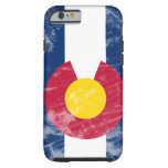 Grunge Colorado State Flag iPhone 6 Case