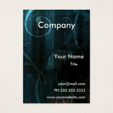 grunge contemporary Business Cards at Zazzle
