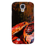 Grunge Corn Snake Coiled Galaxy S4 Cover