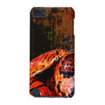 Grunge Corn Snake Coiled iPod Touch 5G Covers
