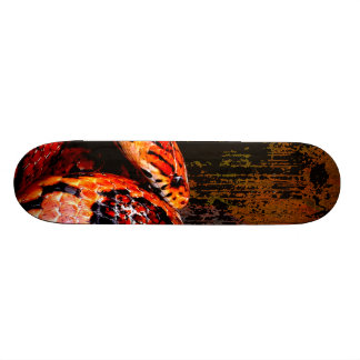 Grunge Corn Snake Coiled Skateboard