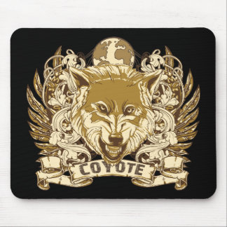Grunge Coyote Mouse Pad