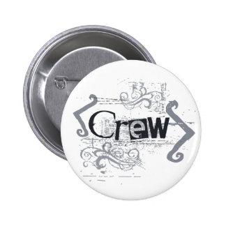Grunge Crew Pinback Button