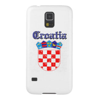 Grunge Croatia coat of arms designs Galaxy S5 Cover