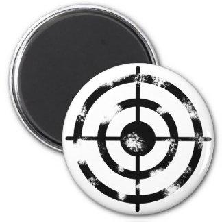 Grunge Crosshair Magnet