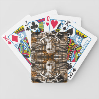 grunge cyber angel playing cards