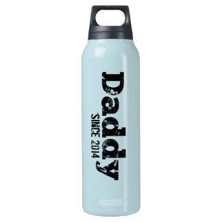 Grunge Daddy Since 2014 Insulated Water Bottle