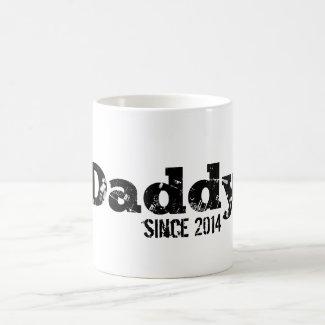 Grunge Daddy Since 2014 Mug