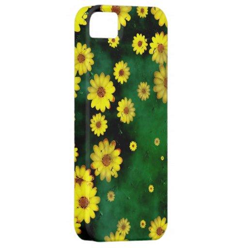 Grunge Daisies iPhone 5 Case
