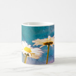 Grunge Daisies meadow Coffee Mug