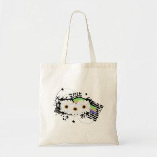 Grunge Daisies Tote Bag