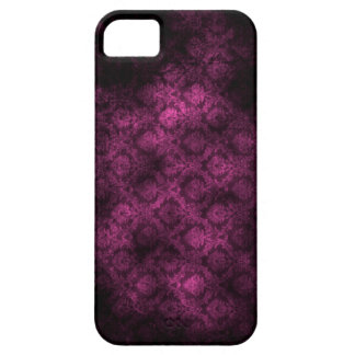 Grunge Damask (Fuschia) iPhone 5 iPhone 5 Cover