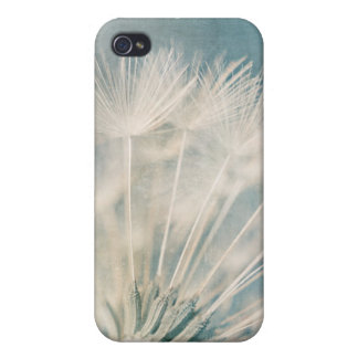 Grunge Dandelion Cover For iPhone 4