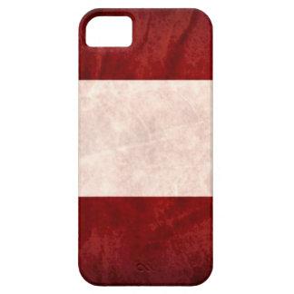 Grunge de la bandera de Austria iPhone 5 Cárcasa