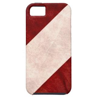 Grunge de la bandera de Austria iPhone 5 Carcasas