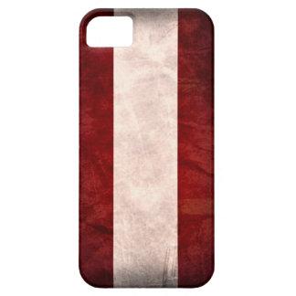 Grunge de la bandera de Austria iPhone 5 Fundas