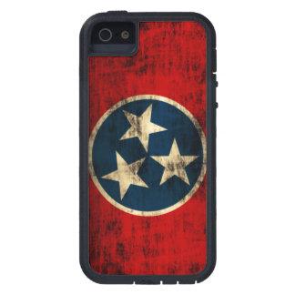 Grunge de la bandera de Tennessee iPhone 5 Funda