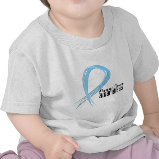 Grunge de la conciencia del cáncer de próstata camiseta