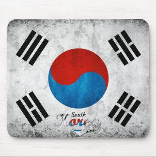 Grunge de la Corea del Sur Tapetes De Ratones