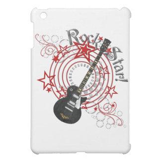 Grunge de la guitarra de la estrella del rock del