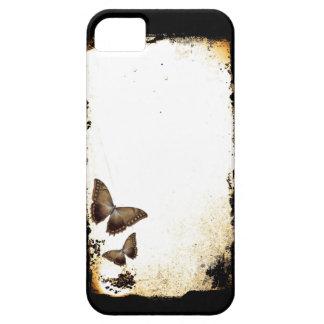 Grunge de la mariposa iPhone 5 carcasa