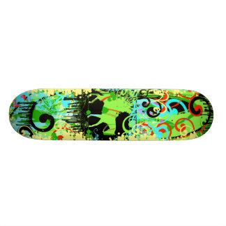 Grunge de la vaquera - modificado para requisitos skateboards