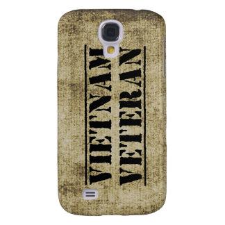 Grunge de los militares del veterano de Vietnam Funda Para Galaxy S4
