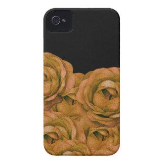 Grunge de los rosas del tono de la tierra del funda para iPhone 4 de Case-Mate